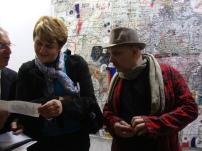 Dominique Voynet et Alin Avila, Commissaire des Hivernales 2013